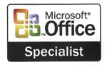 certification microsoft office specialist