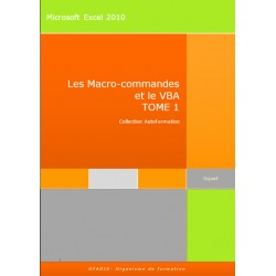 Manuel Autoformation Excel Macro et VBA 2010