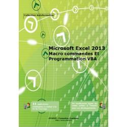 Manuel Autoformation Excel Macro et VBA 2013 (Noir et blanc)