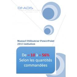 Manuel Powerpoint Initiation 2013