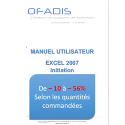 Manuel Excel Initiation 2007