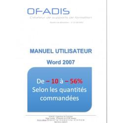 Manuel Word 2007