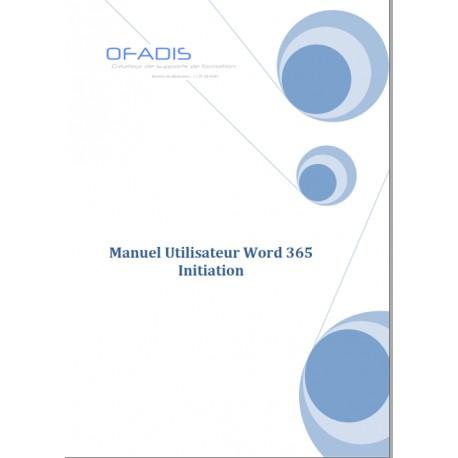 Manuel Word Initiation 365