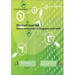Manuel Autoformation Excel Macro et VBA 365 (Noir et blanc)
