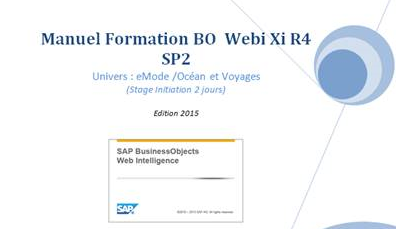 SAP BusinessObjects : Support de stage
