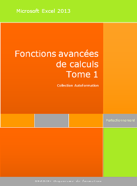 Fonctions de calculs avancées Excel 2013 (recherchev, rechercheH, index, si, et,ou,...)